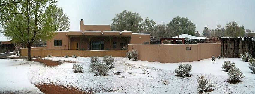 Snow in Corrales