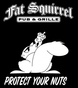 Fat Squirrels Steal Nuts...