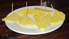 Thin Pineapple Slices