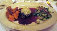 Blue Cheese Crusted Beef Filet