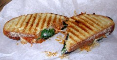 Slow Smoked Carne Panini
