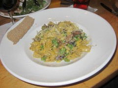 Wild Mushroom Pasta