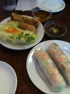 Spring Rolls and Summer Rolls