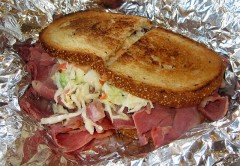 Corned Beef with Slaw
