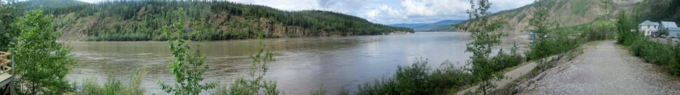 Yukon River at Dawson
