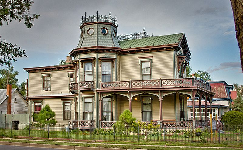 Lovely Victorian. Right here in New Mexico.