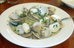 Clams and Linguini