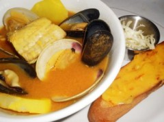 Bouillabasse at P'tit Louis