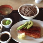 Grilled Eel and Soba