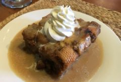 Bourbon Pecan Bread Pudding