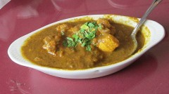Green Chile Chicken Curry