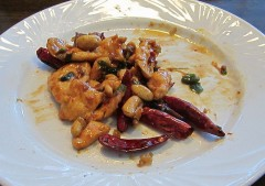 Kung Pao Chicken. Not much left.