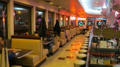 Classic 50s style diner