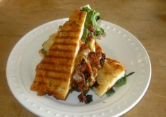 Carne Adovada Panini Revisited