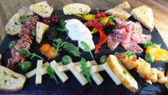 The Charcuterie Board is one menu choice at M'Tucci's Italian Market and Deli on the West Side. (Adolphe Pierre-Louis/Albuquerque Journal)