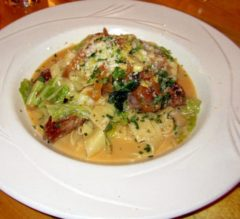 Pappardelle and Salciccia