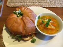 Vegetable Croissant and Butternut Squash Stew